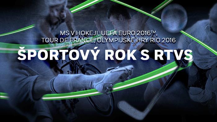 Bohatý športový rok s RTVS