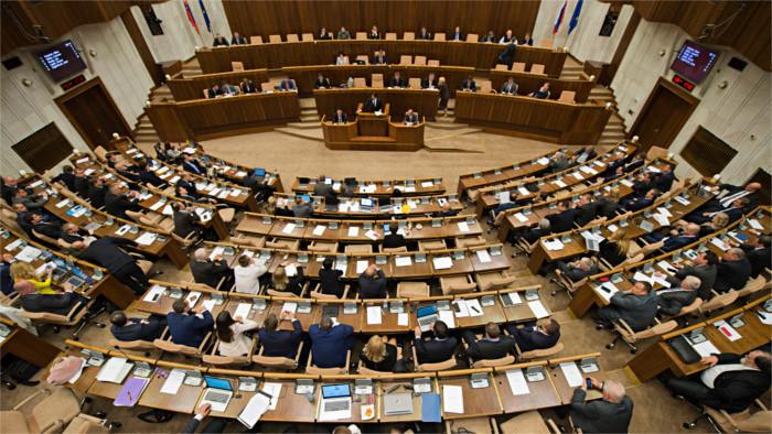 Депутаты сегодня не проголосуют по Программному завлению кабинета П. Пеллегрини