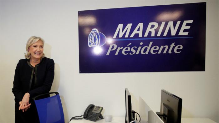 A propos de la victoire possible de Marine Le Pen