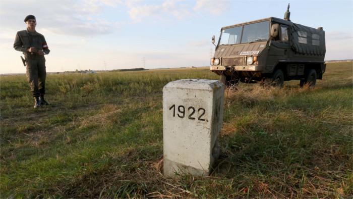 Österreichisch-slowakische Grenze soll stärker überwacht werden