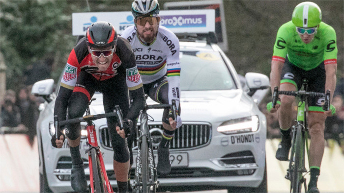 Peter Sagan opens Classics with first and second place