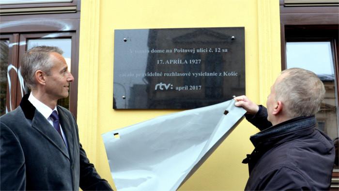 Félicitation à Radio Košice