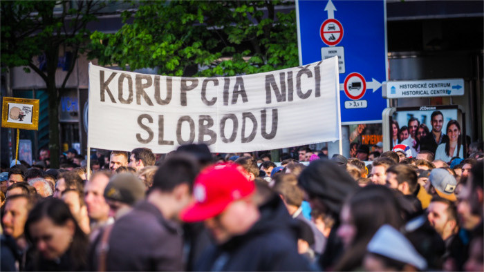 Protest proti korupcii