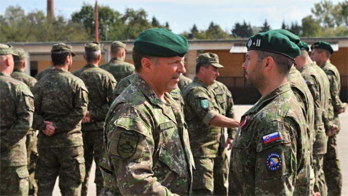 V misiách OSN 20 rokov pomáhajú aj slovenskí vojaci