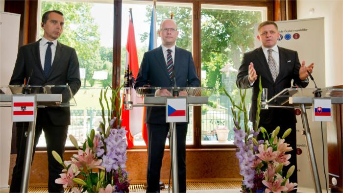 Zusammenarbeit Österreich - Tschechien - Slowakei