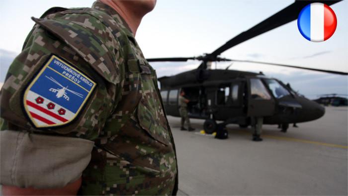 2 hélicoptères UH-60M Black Hawk en Slovaquie