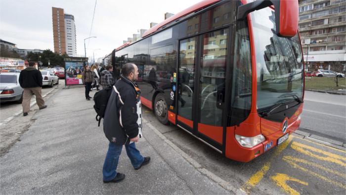 Bratislava incorporará autobuses eléctricos al transporte urbano