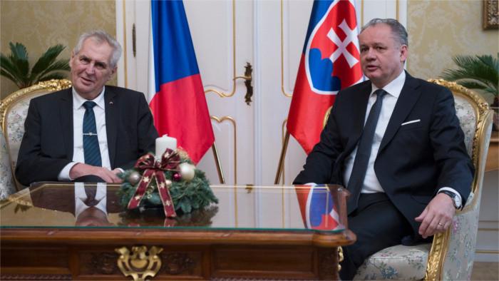 Czech president's farewell to Slovakia