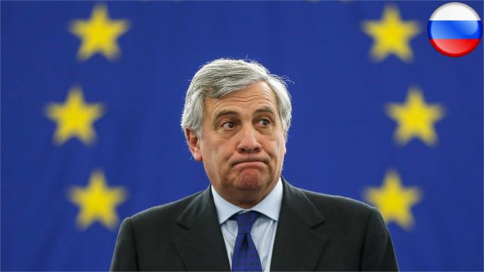 Председатель Европарламента А. Таяни выступит в парламенте СР