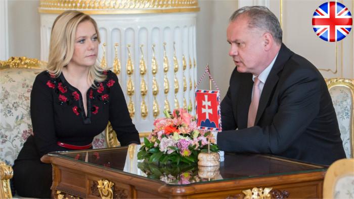 President unhappy with new Interior Minister Denisa Saková
