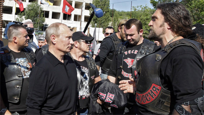 Pro-Putin Russian motorcycle club creates Bratislava branch