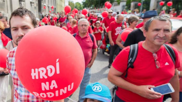 Dva pochody v Bratislave