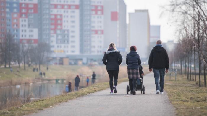 Демографическая ситуация в Словакии