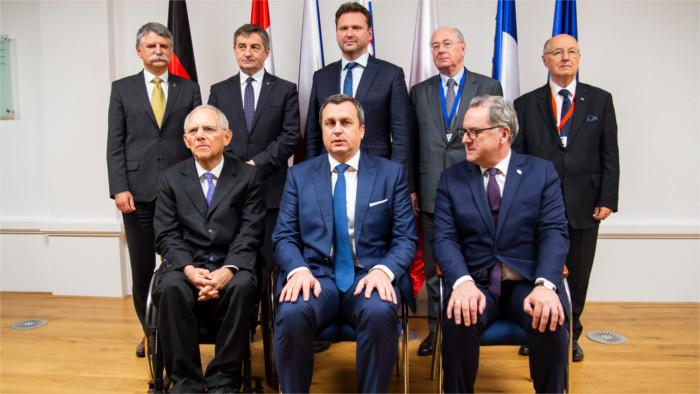 Заседание глав парламентов В-4 в Братиславе