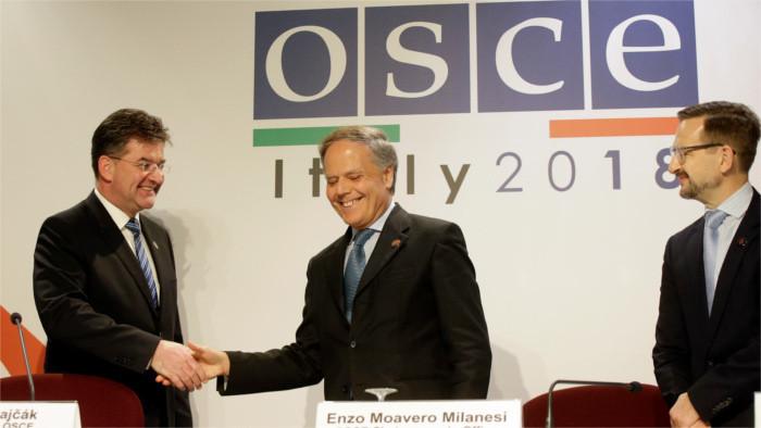 Výzvy nášho predsedníctva v OBSE