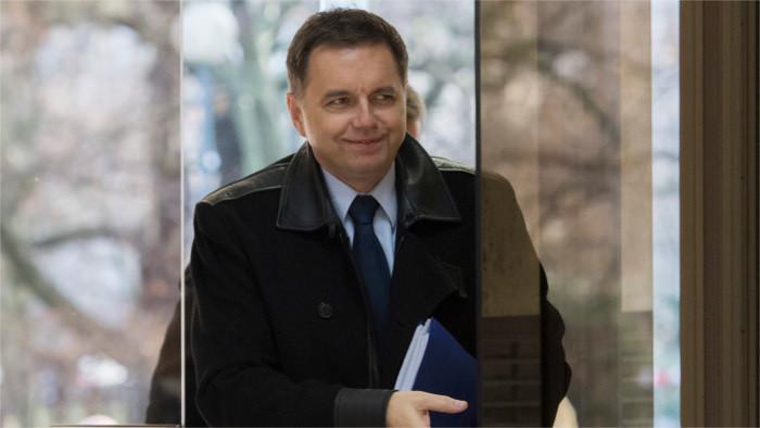 Министр финансов Кажимир прощается с высокой политикой