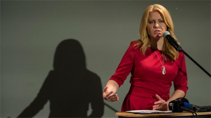 Slowakische Präsidentschaftswahl in der Welt-Presse