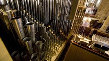 The pipe organ at St Martin's Cathedral