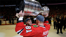 Marián Hossa out of NHL's next season