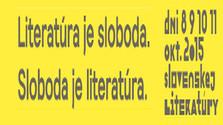 Dni slovenskej literatúry 8 - 11. októbra 2015