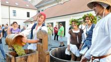 En Trnava celebraron un antiguo ritual vinatero
