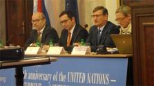 Conférence sur l'ONU à l'université Comenius