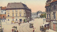 Old multi-cultural Bratislava