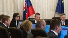 Session régulière des ministres du gouvernement slovaque