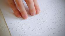 Braillovo písmo v praxi