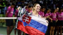 Cibulková termina su mejor temporada como campeona del Masters