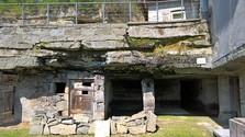 Brhlovce: Alte Felsenwohnungen und ein junger Winzer