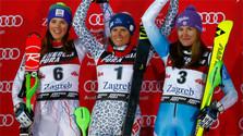 Historischer Erfolg der slowakischen Slalomläuferinnen