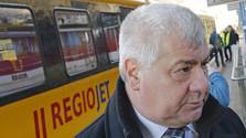 Érsek Árpád miniszter vonattal közlekedett
