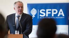 Präsident Kiska auf außenpolitischer Konferenz