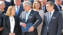 Conferencia de presidentes de parlamentos europeos en Bratislava