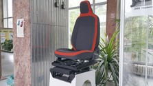 Slovak-made car seat for disabled and elderly