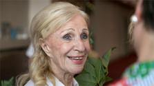 Die Schauspielerin Mária Kráľovičová feierte ihren Neunziger