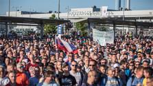 Continúa la huelga en Volkswagen Slovakia