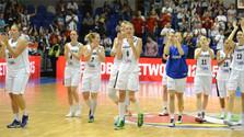 Успех словацких баскетболисток