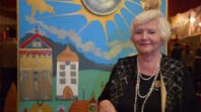 Naďa Mikolášiková - Ábelová vystavuje  v Piešťanoch