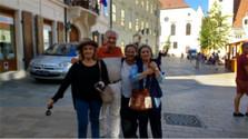 Descendientes de eslovacos – Juan Manuel Yalj y sus hermanas
