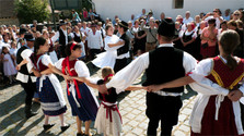 270e anniversaire de la colonisation slovaque du village hongrois de Mlynky