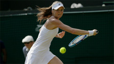 Daniela Hantuchová bids farewell to professional tennis in great fashion