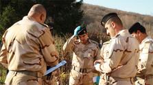 Soldados eslovacos forman a otro grupo de expertos iraquíes en desminado