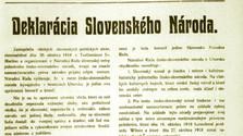 К 100-летию принятия Мартинской декларации