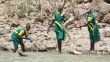 Keňa – život na ostrove Kokva