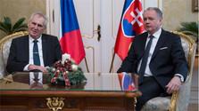 Presidente checo se encuentra de visita oficial en Eslovaquia