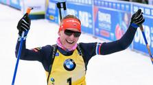 Kuzmina erfolgreich in Oberhof