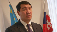 Abdykarimov aprecia la cooperación de Lajčák y los diplomáticos de Kazajstán