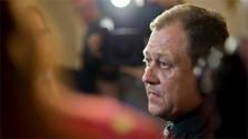 Former secret agent Oskar Fegyveres spoke to prosecutors